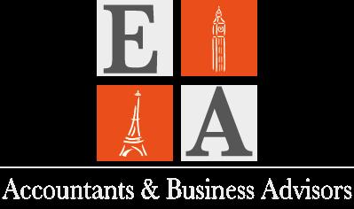 logo euro accounting with light grey baseline 300DPI
